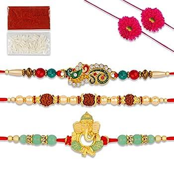 rakhi set of 3