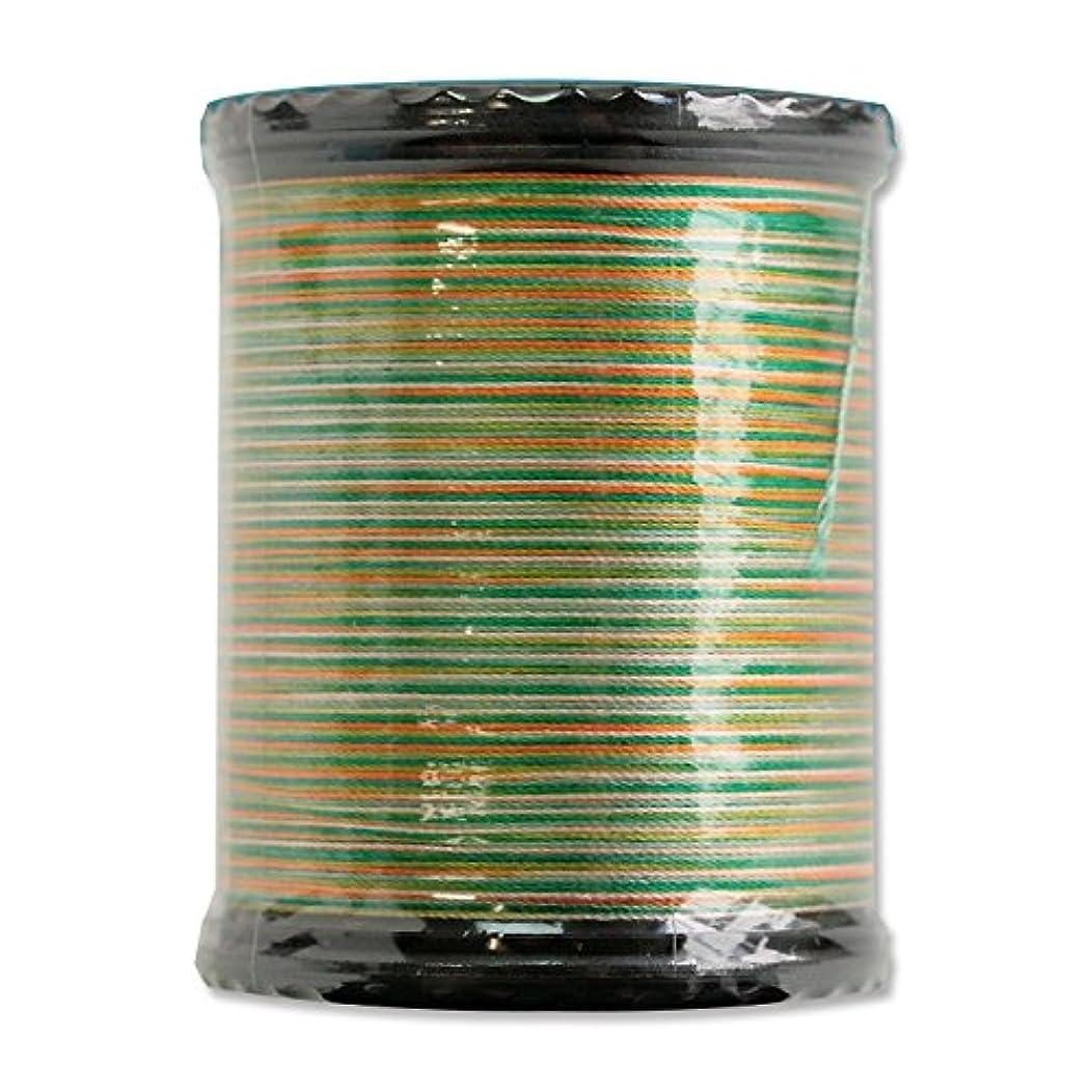 Superior Threads 13701-603 Tiara Green Golds 50W Variegated Silk Thread, 273 yd