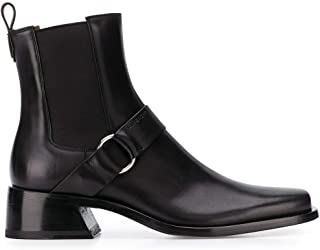 Luxury Fashion   Givenchy Men BH601GH0K5001 Black Leather Ankle Boots   Spring-summer 20