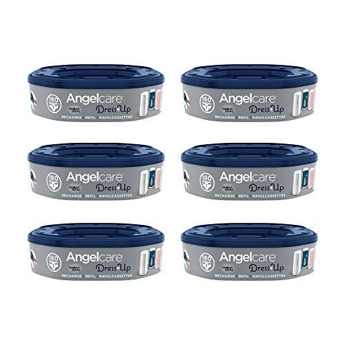 Angelcare - Dress Up - Recharges Octogonales pour Poubelle à Couche Dress up/Essential - Anti...