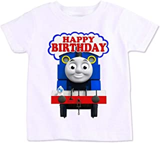 Thomas And His Friends Happy Birthday T-Shirt, 4 Years
