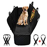 PET'ALMI - Dog Back Seat Cover Protector for Car Hammock Type Waterproof Scratchproof Nonslip Protection Against Dirt and Pet Fur Durable Cover for Cars & SUV's with Logo I Love My Labrador