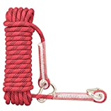 Syiswei Rock Climbing Rope 12MM, Upgraded Coating Carabiners...