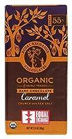 Equal Exchange オーガニック ダークチョコレート シーソルト入りキャラメルクランチ カカオ55 80g 2 8オンス