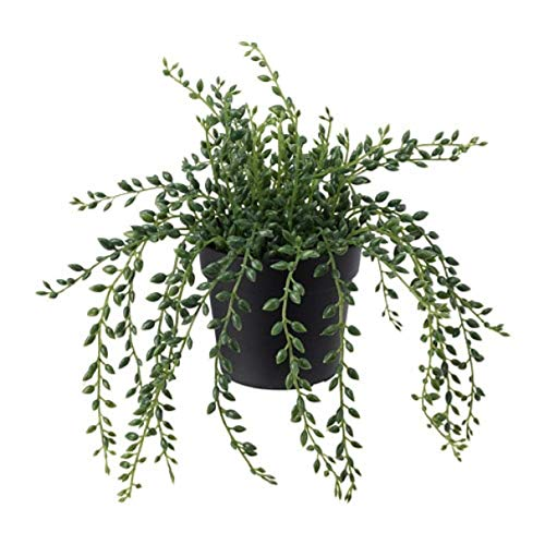 Ikea Fejka Artificial Potted Plant Indoor Outdoor String of Beads...