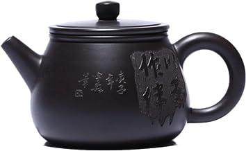 JIAZHOUMA Ręcznie robione czajniki Yixing Fioletowa glina filtr dzbanek do herbaty czajnik piękny ręcznie robiony Zisha ze...