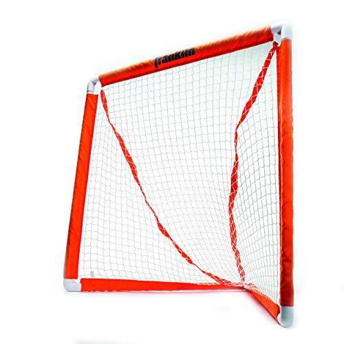 Franklin Sports Deluxe Youth Lacrosse Goal Orange, One Size