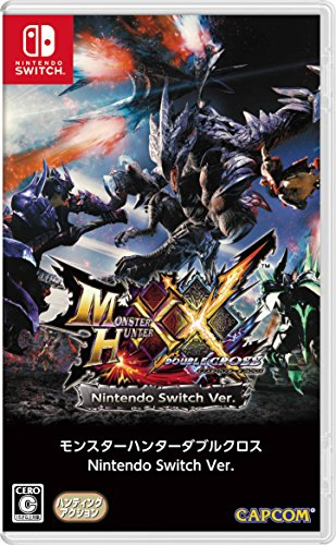 Monster Hunter XX Double Cross [Sólo En Idioma Japonés] Standard Edition [Nintendo Switch] [Importación Japonesa]
