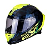 Scorpion Motorradhelm EXO-R1 AIR OGI Black-Neon yellow, Schwarz/Fluo, M