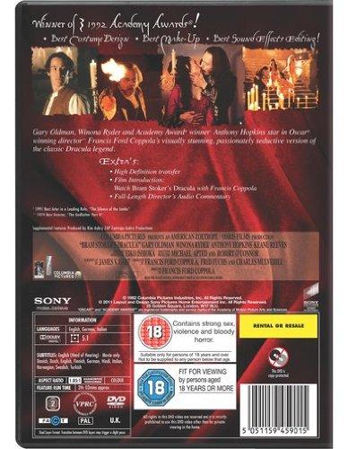 Bram Stoker's Dracula [DVD] [1992]