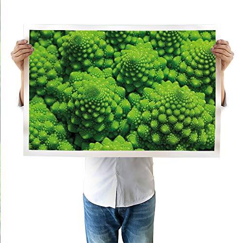 SATVSHOP Art Canvas Prints Ikat Abstract - Lienzo con impresión de estilo oriental asiático, diseño tradicional y exótico islámico, fácil de colgar, color verde y blanco