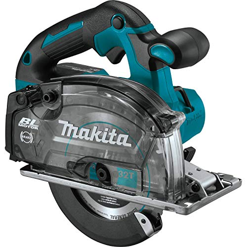 "Makita XSC04Z 18V LXT Lithium-Ion Brushless Cordless 5-7/8"" Metal Cutting Saw, Bare Tool, no battery"