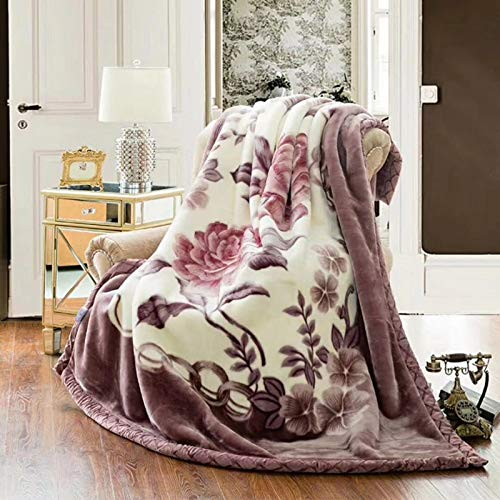 Sherpa Fleece Blanket Bed Throws Blankets Sheet Bed Blanket Double Thickened Flannel Blanket,F-180X200cm