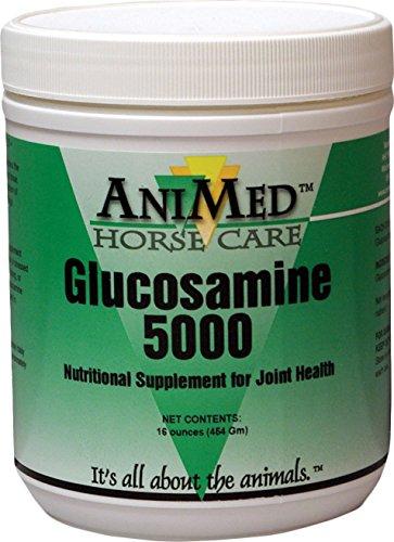 AniMed Horse Glucosamine 5000 Supplement, 16 oz