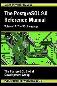 Postgresql 9. 0 reference manual: programming guide v. 2 free pdf.