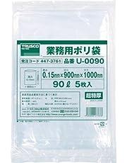 TRUSCO 業務用ポリ袋0.15