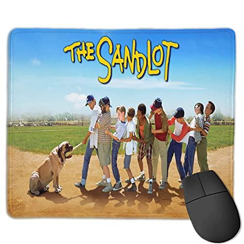 La Almohadilla Personalizada Sandlot para Mouse inalámbrico Base de Goma Antideslizante Duradera y Almohadilla de Escritorio de Superficie Lisa Impermeable