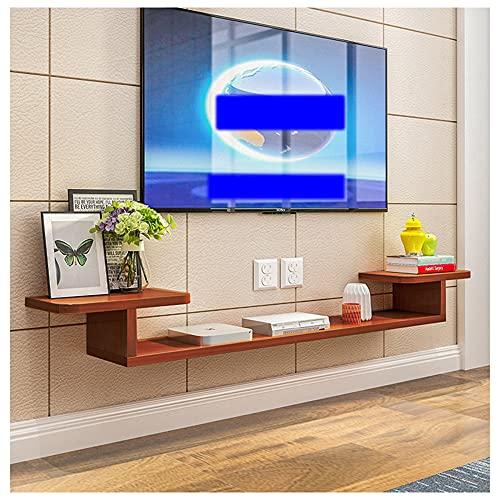 WFENG Mueble Suspendido/Flotante para TV Armario,Mesa de Salón de Estilo Moderno,Gran Carga-Resistente/C / 160×20×15cm