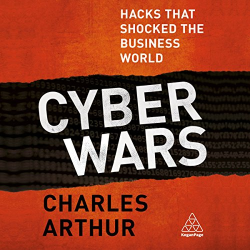 Cyber Wars audiobook cover art