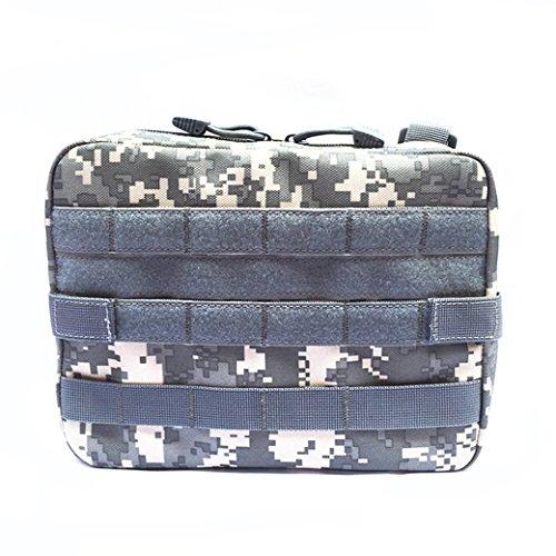 Senmir Sacchetto della Vita, Tattico Marsupio, Tactical Tasca Utility Pouch, Borsa per Aiuti Medic, Multi-Purpose Bag Pieghevole Universale