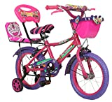 Outdoor Kids Double Seat Bicycle 14 Inch (Pink)