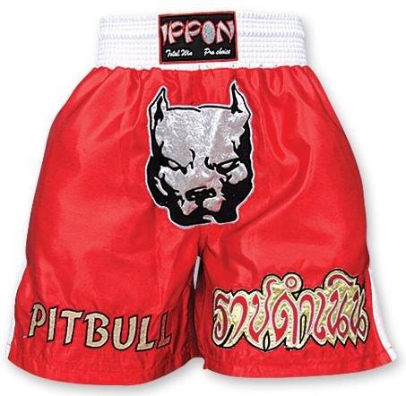 M.A.R International Ltd. Kick Boxen & Thai Boxing Shorts Kickboxen Hose MMA Hose Boxen Kleidung Muay Thai K1Gear Polyester Satin Stoff Rot Größe L rot - rot