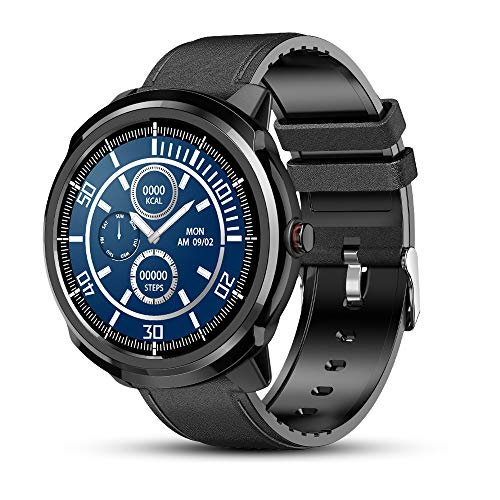 Smart Watch, Fitness Tracker Watch con cardiofrequenzimetro Contapassi Orologio sportivo per uomini e donne, Smartwatch da corsa impermeabile con Touch Screen SMS di notifica per iPhone Android