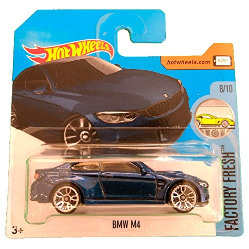 Hot Wheels Factory Fresh 55/365 - BMW M4 Dark Blue (Short Card)