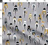 Fahrrad, Fitness Stoffe - Individuell Bedruckt von