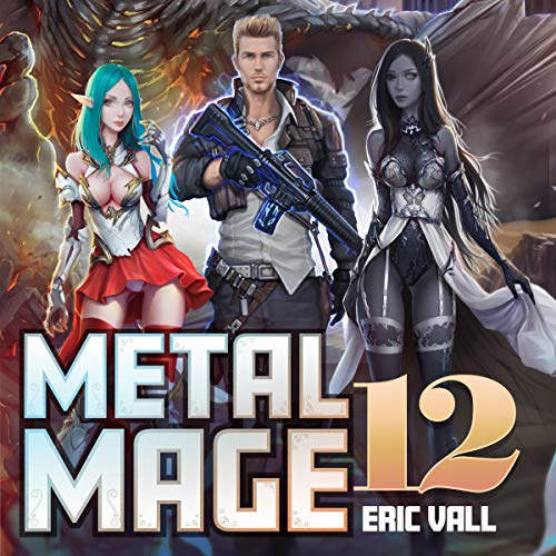 Metal Mage 12 audiobook cover art