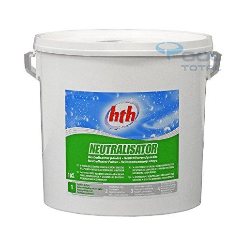 HTH NEUTRALISATOR Pulver 10,0 kg Eimer - neutralisiert Chlor- oder Bromüberschuss in Schwimmbadwasser