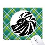 Sternbild Löwe Sternzeichen Symbol Grüne Gitter Raster Pixel Mauspad