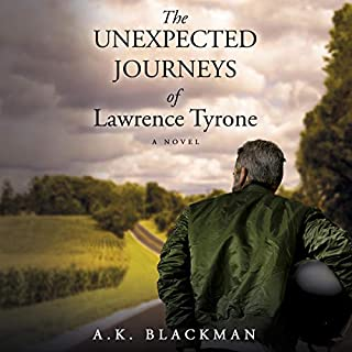The Unexpected Journeys of Lawrence Tyrone audiobook cover art