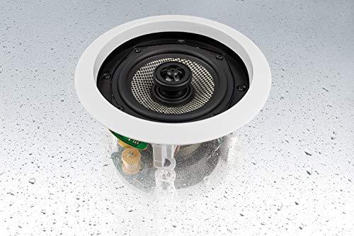 Magnat IC 51- Decken-Einbaulautsprecher, spritzwassergeschützt, 1 Stück