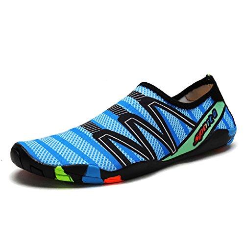 DoGeek Unisex Zapatos de Agua Acuático Escarpines para el Agua de Surf de Playa de Deporte para Mujer Hombre