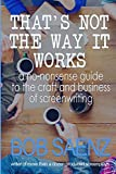 That's Not The Way It Works: A no-nonsense guide to the craft and business of screenwriting