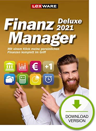 Lexware FinanzManager Deluxe 2021 Download|Einfache Buchhaltungs-Software für private Finanzen und Wertpapier-Handel