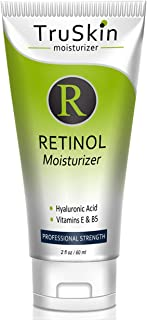 TruSkin Retinol Cream Anti-Wrinkle Moisturizer for Face Care and Eye Area with Hyaluronic Acid, Green Tea, 2 fl oz
