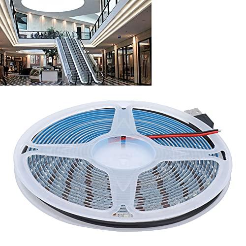 FEYV Tira de luz, 60 Piezas Tira Flexible LED de Alto Brillo para pasillos para Bares para centros comerciales
