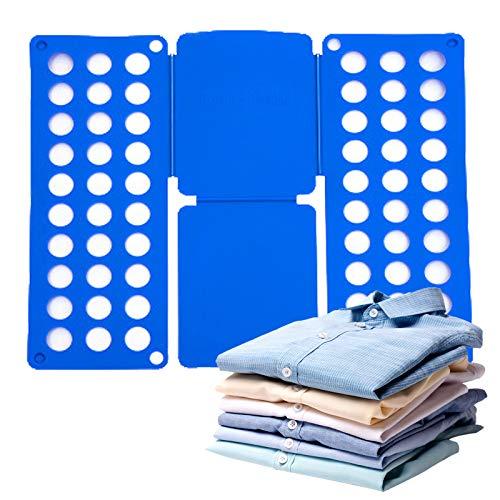 TBoxBo Tabla plegable de la camisa Lazy tabla de planchar plegable ropa...