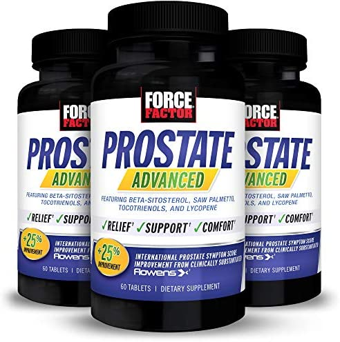 Force Factor Prostate Advanced Health Supplement for Men for Reducing Nighttime Bathroom Trips product image