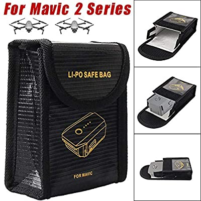 1PC LI-PO Explosion-Proof Fireproof Guard Safe Bag Cover for DJI Mavic 2 Series
