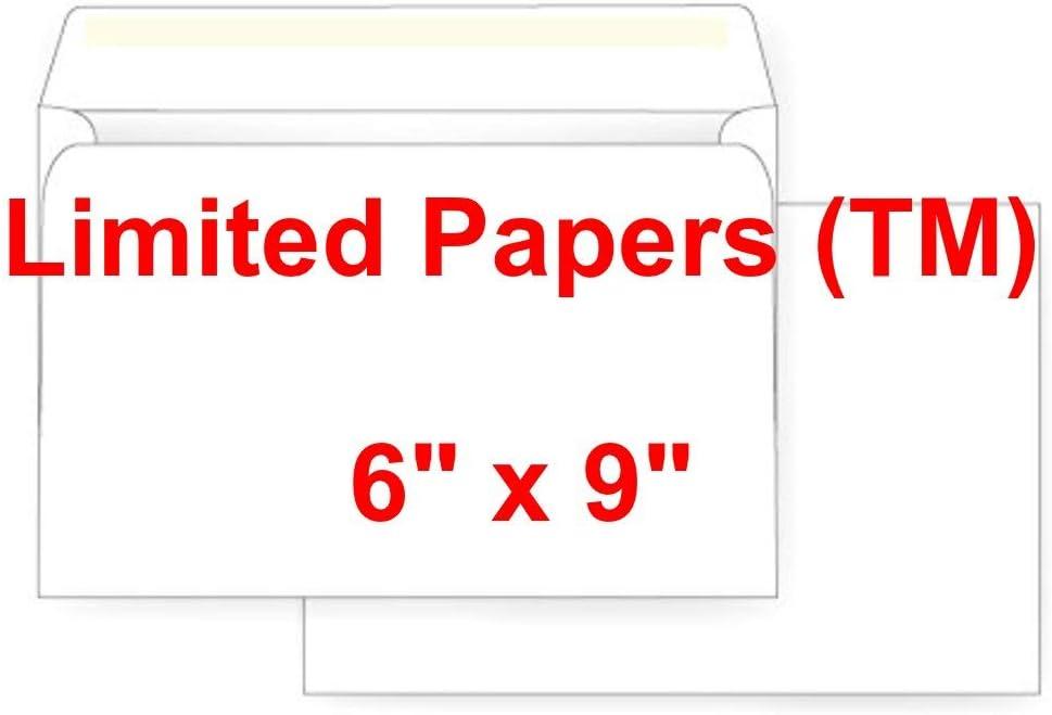 100-6x9 Wedding Invitations Open Side Or Booklet Envelopes