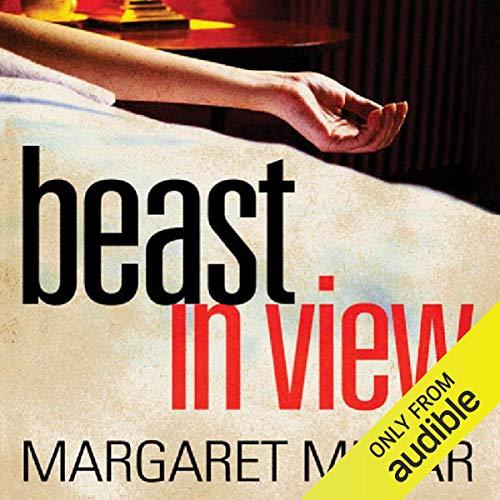 Beast in View audiobook cover art