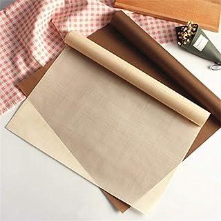1 قطعة غير لاصق للخبز حصيرة هرمية مخبز ألياف سيليكون قالب غير لاصق للخبز المعجنات 40 × 60 سم (اللون : 3 قطع 30 × 40 سم بن...