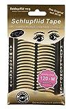 SCHLUPFLID TAPE® 'pretty size' (M) - Augenlidliftig ohne OP [120 Stück], Schlupflid Streifen für schöne offene Augen, Kleine Schönheitshelfer für hängende Augenlider
