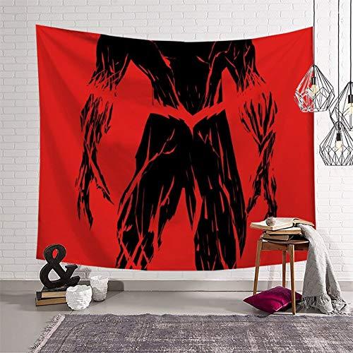 PearlRolan The Flash Speed Feast - Tapiz vertical para colgar en la pared, 130 x 150 cm, tapiz de pared para dormitorio o picnic