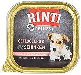 Rinti Feinest Geflügel & Schinken für Hundesenioren