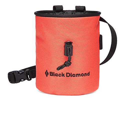 Black Diamond Mojo Chalk Bag chalkbag Mixte Adulte, Coral, FR : L (Taille Fabricant : Medium/Large)
