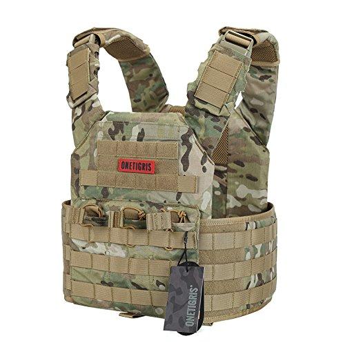 OneTigris PLPC Weste Taktische Carrier Weste Brustschützer für CS (MC)